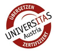 Übersetzen zertifiziert UNIVERSITAS Austria