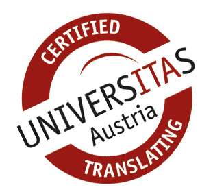 certified translating UNIVERSITAS Austria